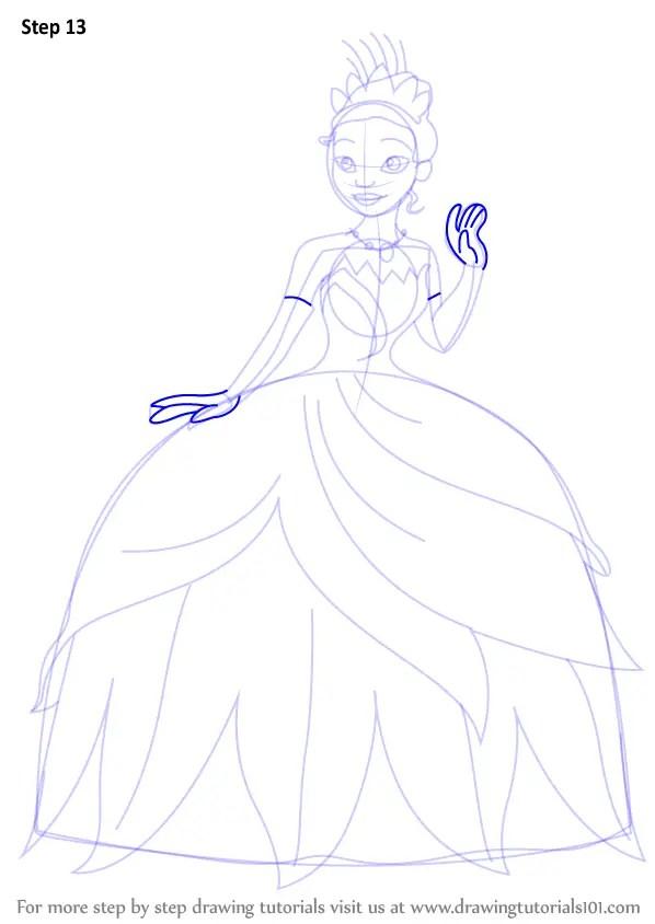 Princess Tiana Drawing : princess, tiana, drawing, Princess, Tiana, Drawing, Ideas