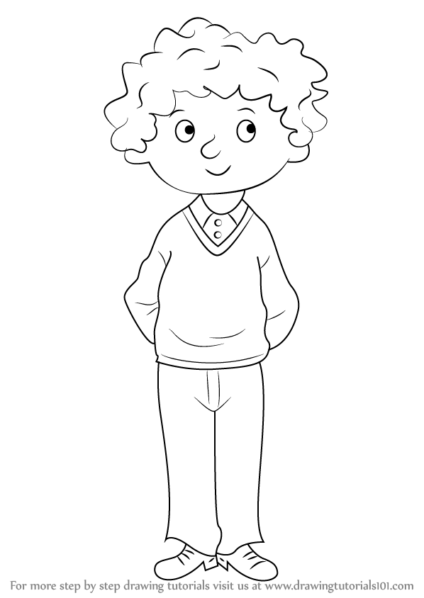 Learn How to Draw Perfect Peter from Horrid Henry (Horrid
