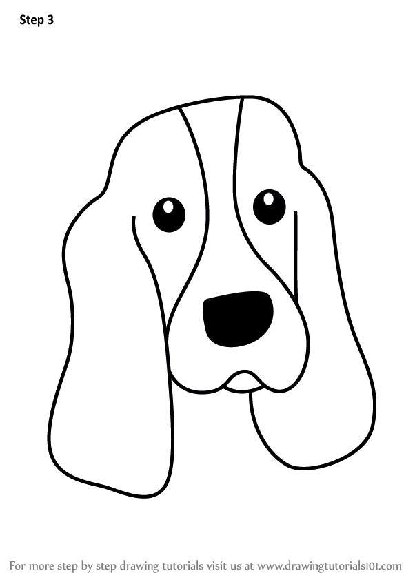 How To Draw A Puppy Face : puppy, Pengetahuan, Drawing