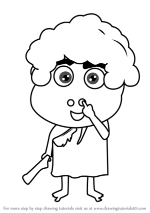 happy kid draw step drawing cartoons learn tutorials expressions getdrawings facial