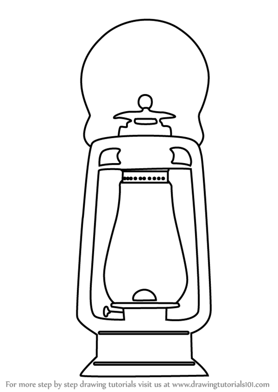 Lamp Drawing Easy : drawing, Learn, Antique, (Everyday, Objects), Drawing, Tutorials
