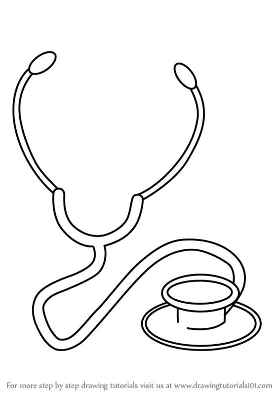 90+ Stethoscope drawing ideas in 2021