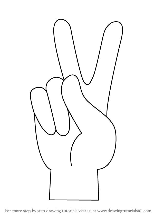 How To Draw A Peace Sign : peace, Learn, Peace, (Symbols), Drawing, Tutorials