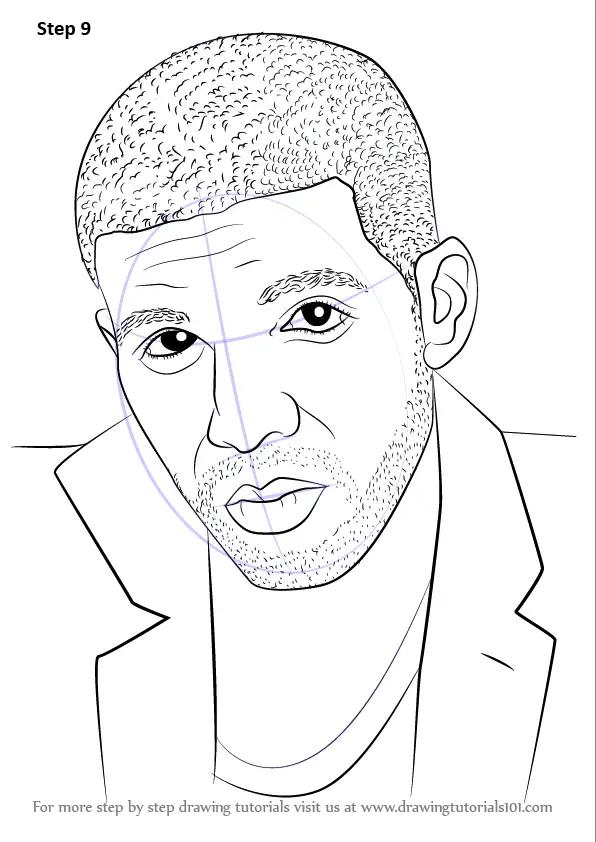 Drake Drawing Easy : drake, drawing, Learn, Drake, (Rappers), Drawing, Tutorials