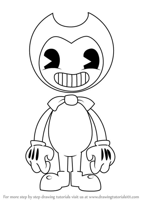[BATIM//SpeedArt] I draw Bendy and the ink demon - YouTube