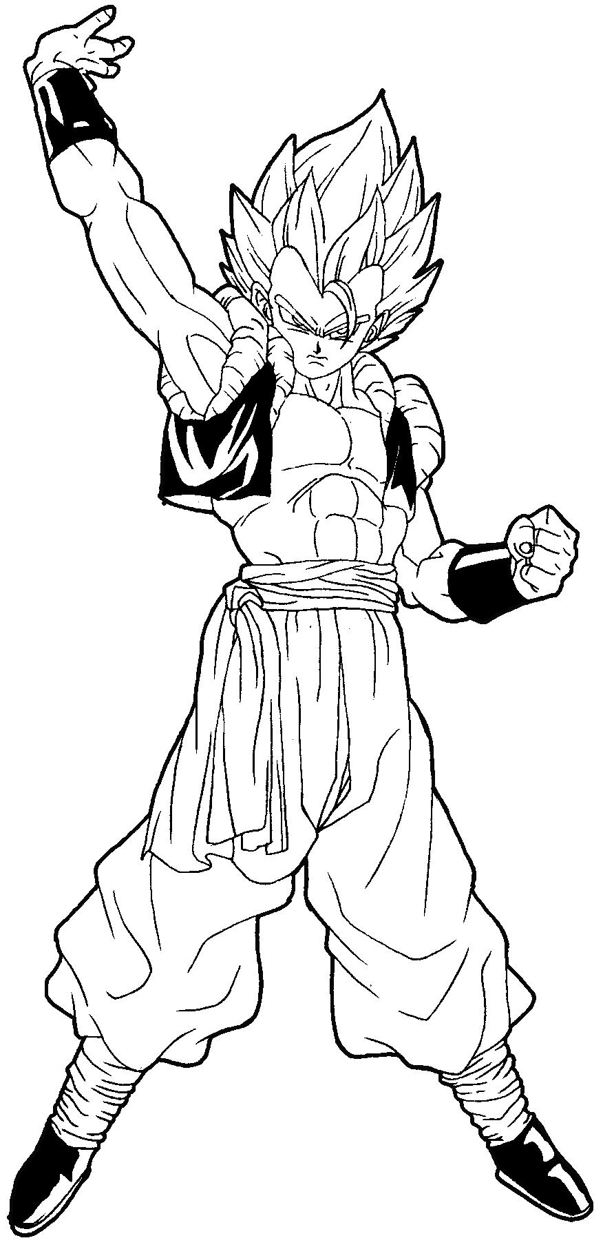 Draw Gogeta
