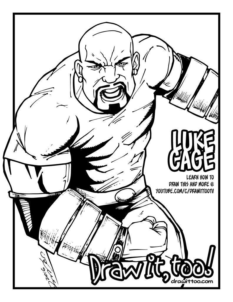 luke_cage_coloring_page