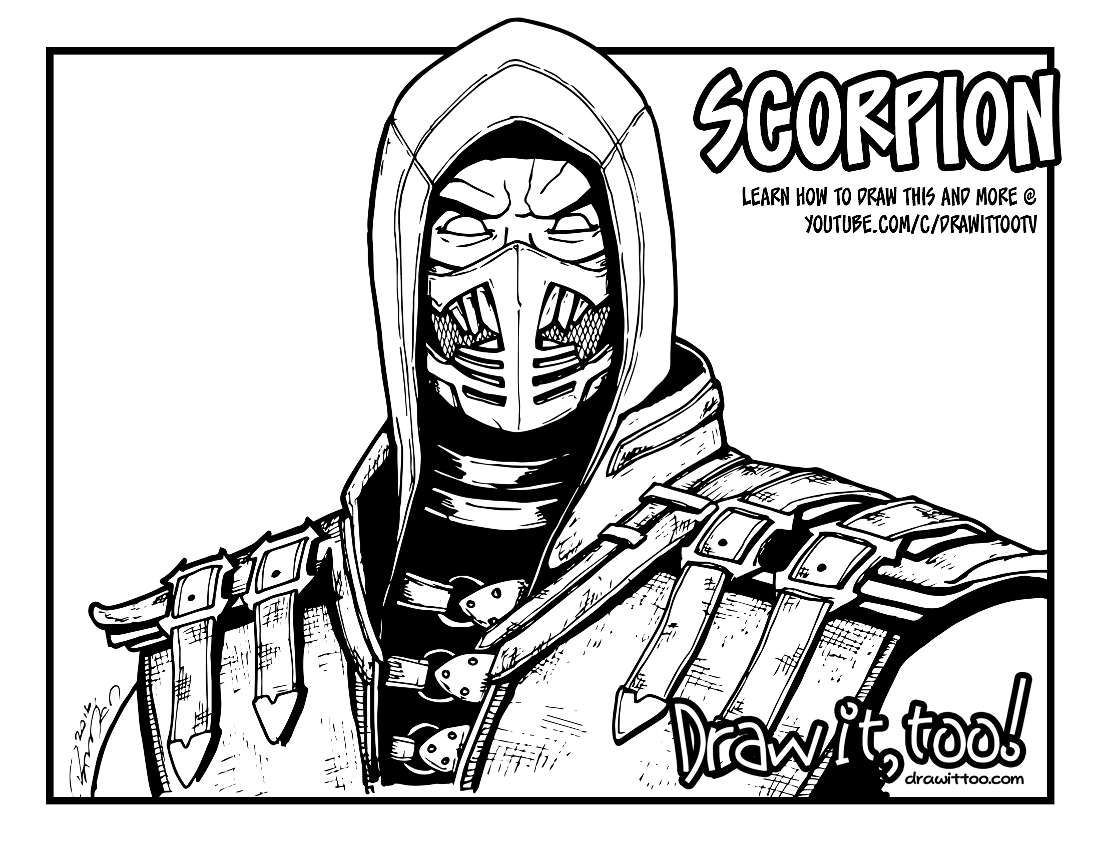 Scorpion_coloring_page