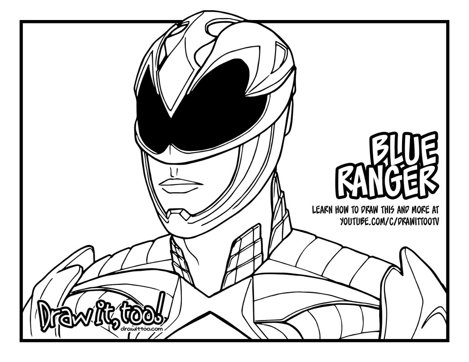 download the blue ranger coloring page here