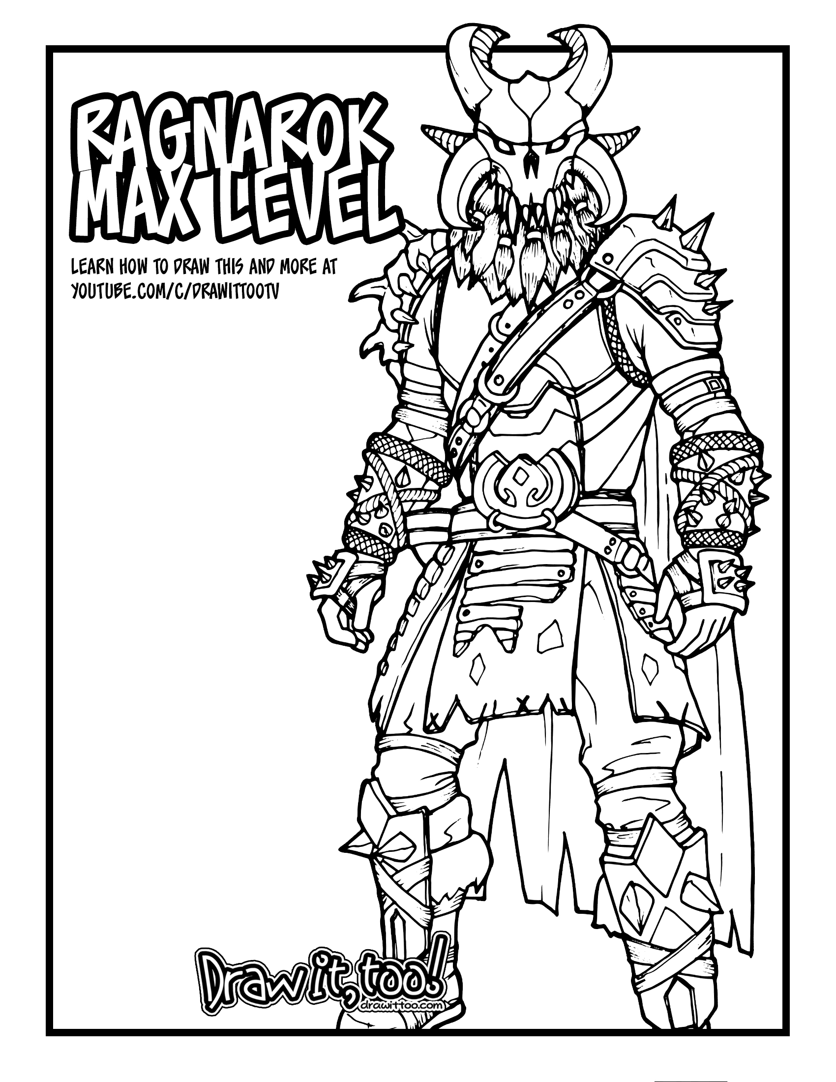 Fortnite Dire Wolf Coloring Pages   Coloring and Drawing