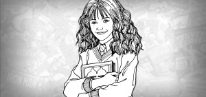 potter harry hermione granger draw drawing characters drawings sketch cartoon easy tutorials
