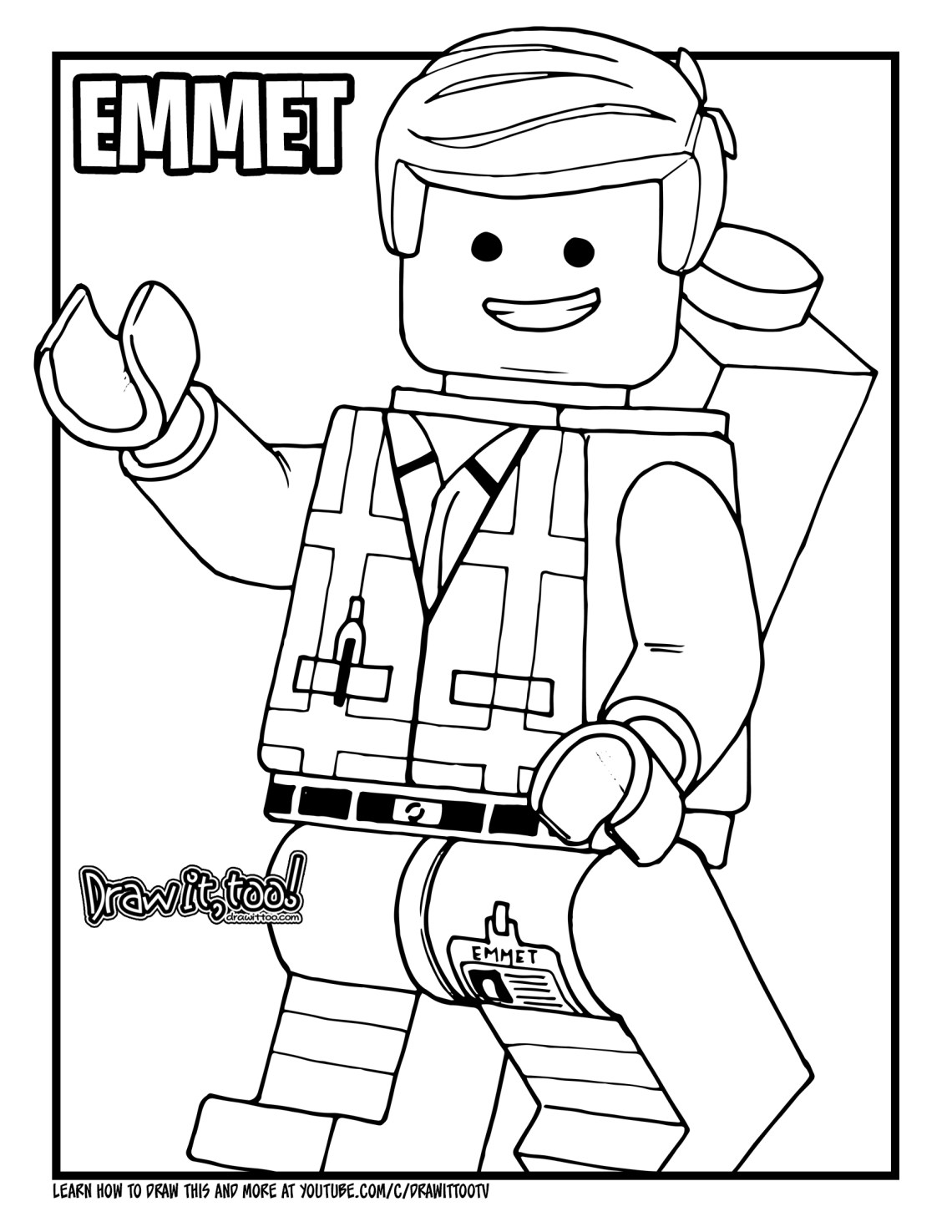 Download the emmet coloring page here