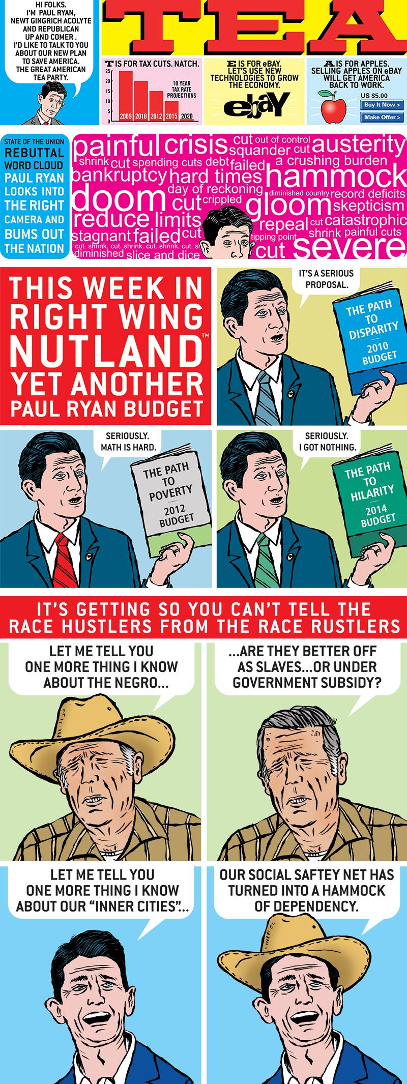 © Mark Kaufman American Affairs Desk Comics Paul Ryan Greatest Hits A Magical Unicorn of Conservative Thought
