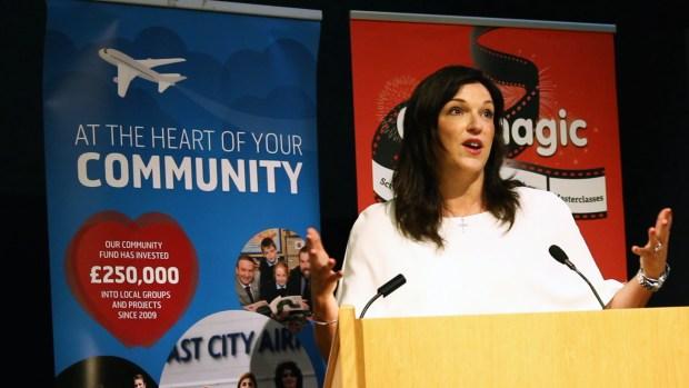 Joan Burney Keatings MBE - CEO of Cinemagic