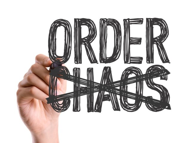 Bringing order out of chaos