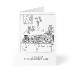 'THE Drawer' Greeting Cards (8 pcs)