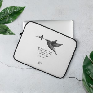 'Hummingbird' – laptop sleeve