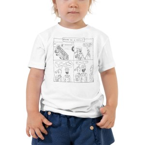 'Frequent Flyer' Toddler Short Sleeve Tee