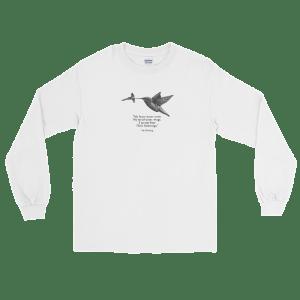 'Hummingbird' – long sleeve shirt