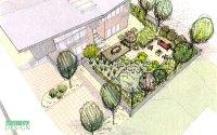 landscape sketch | DrawnToGarden