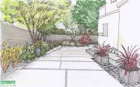 landscape design drawing | DrawnToGarden