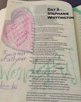Day 2_Stephanie Whittington_blog