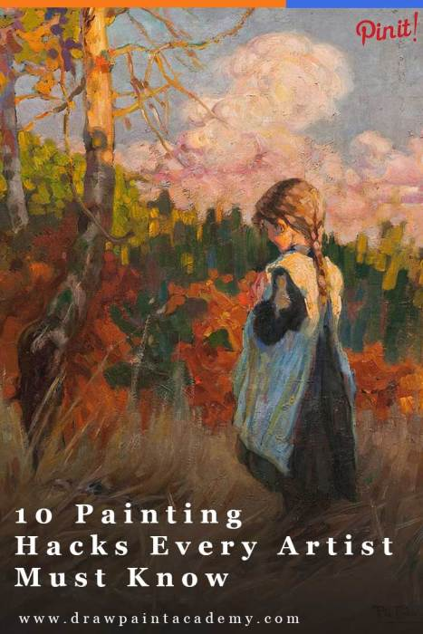 10 Painting Hacks Every Artist Should Know