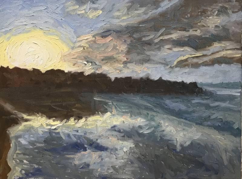 noosa at sunset details