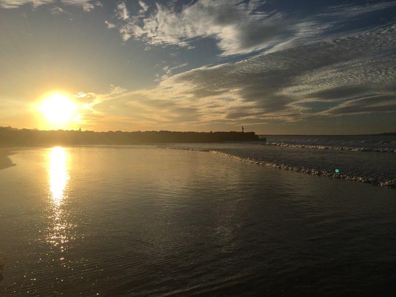 noosa at sunset photo