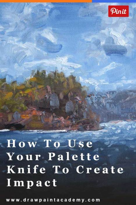 How To Use The Palette Knife