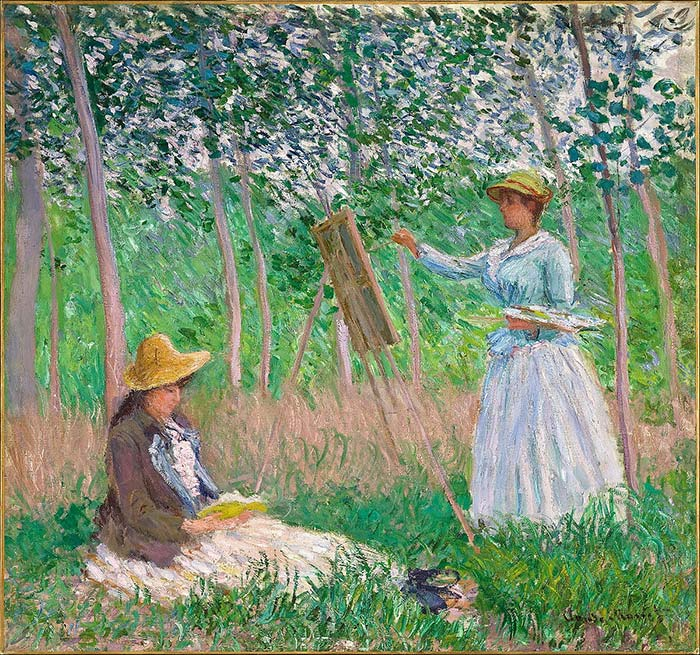 What Type Of Art Does Claude Monet Paint