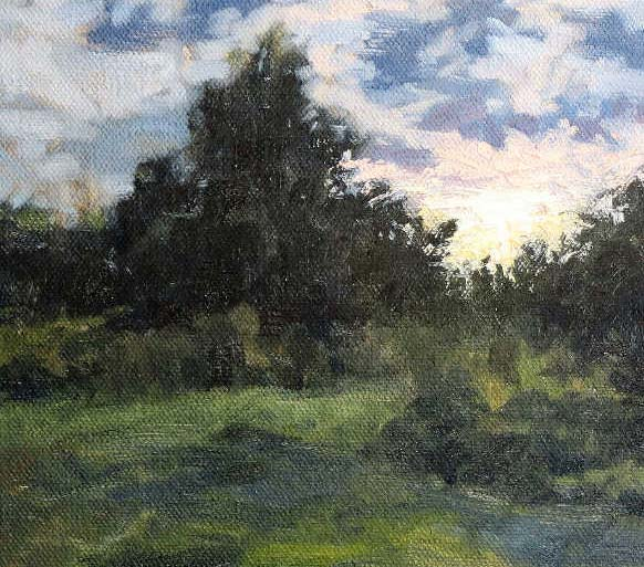 How To Paint Trees In Oil and Acrylics