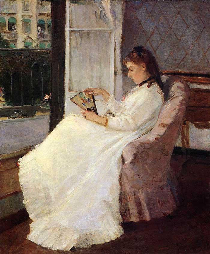 Berthe Morisot, The Artist's Sister at a Window, 1969