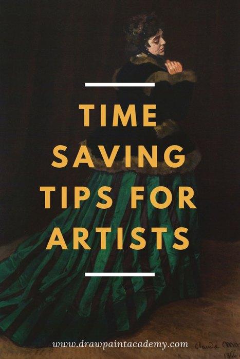 Time Saving Tips For Artists