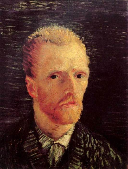 13. Vincent van Gogh, Self-Portrait, 1887