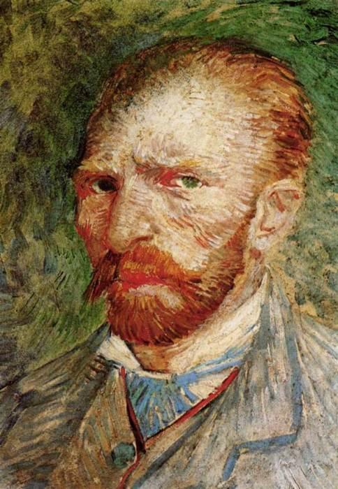 15. Vincent van Gogh, Self-Portrait, 1887