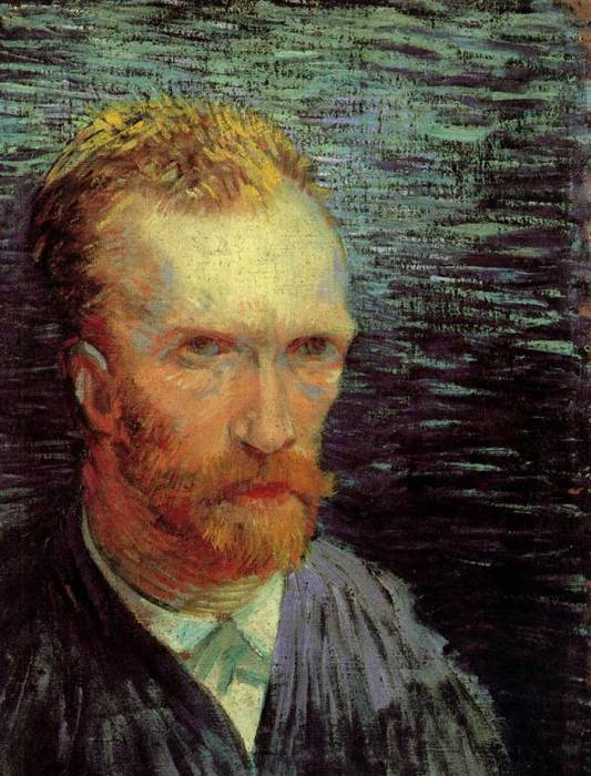 17. Vincent van Gogh, Self-Portrait, 1887