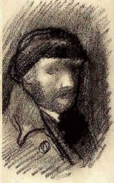 3. Vincent van Gogh, Self-Portrait With Cap, 1886