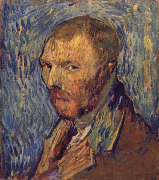 36. Vincent van Gogh, Self-Portrait, 1889
