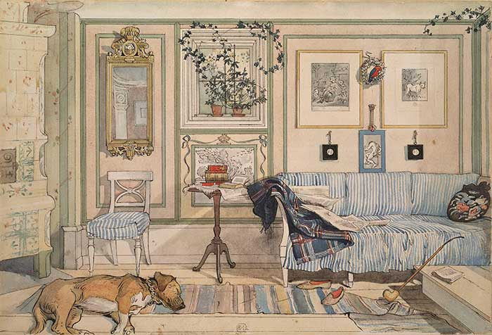 Carl Larsson, Cosy Corner, 1894