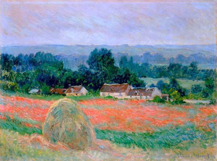 Claude Monet, Haystack At Giverny, 1886