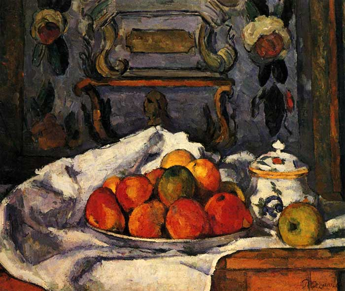 Paul Cezanne, Dish Of Apples, 1879