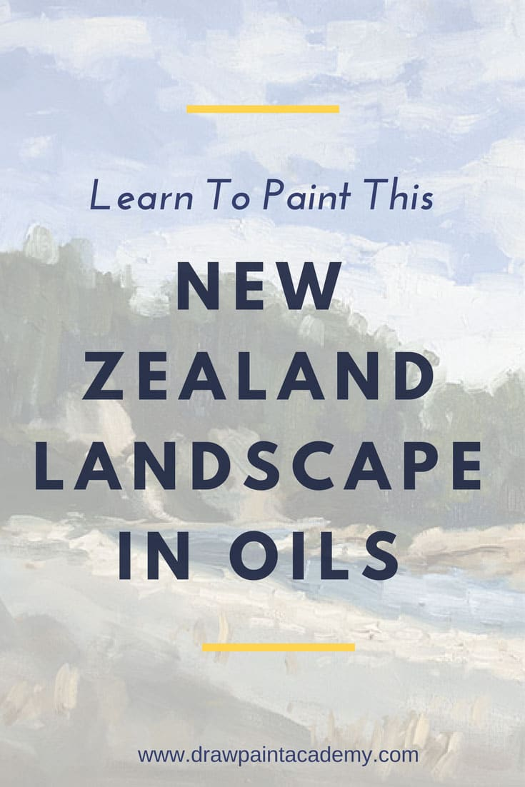 FREE Landscape Painting Tutorial. 