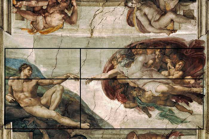 Michelangelo, The Creation of Adam, 1512