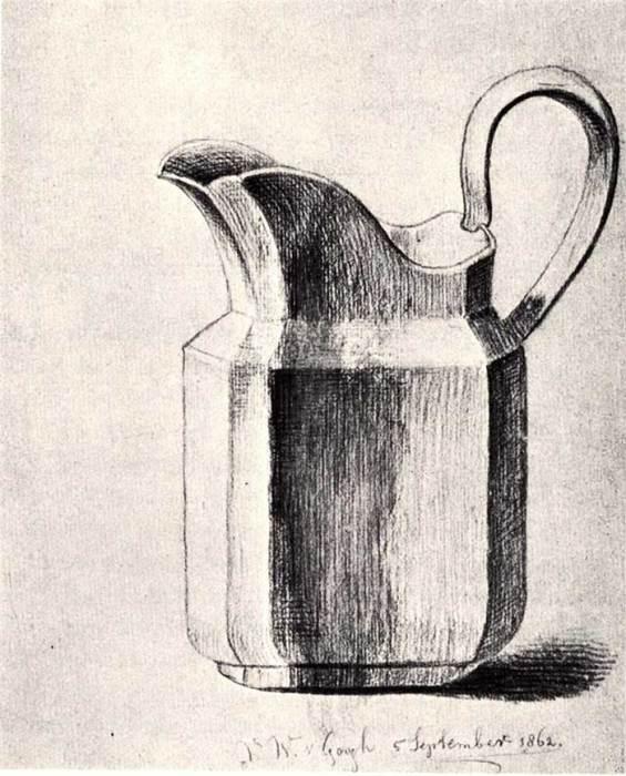 Vincent van Gogh, Milk Jug, 1862