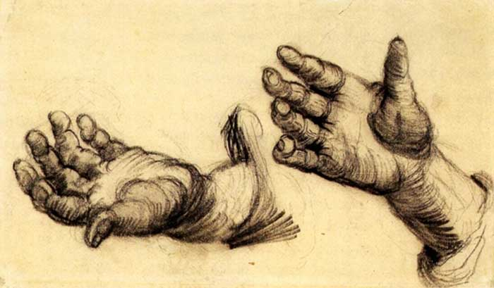 sketches by Vincent van Gogh