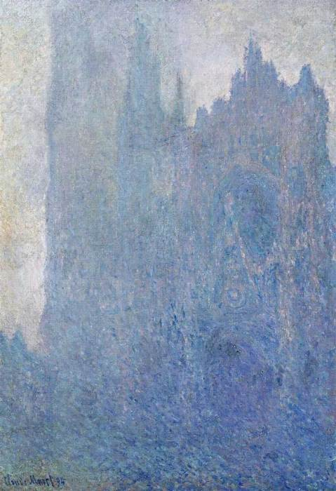 10. Claude Monet, Rouen Cathedral In The Fog, 1894