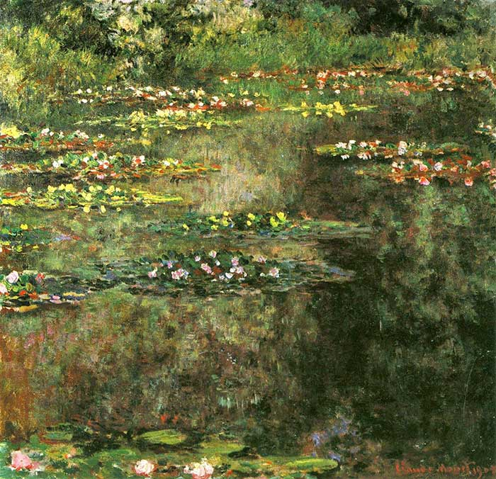 12. Claude Monet, Water Lilies (3), 1904