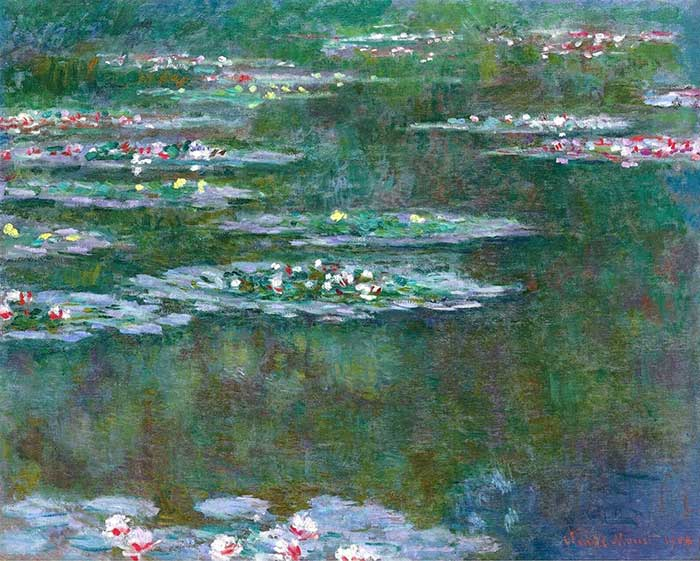 13. Claude Monet, Water Lilies (4), 1904