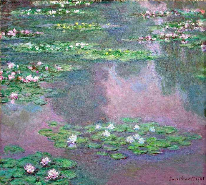 15. Claude Monet, Water Lilies, 1905